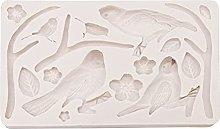 Stampo in silicone per fondente in foresta, per