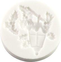 Stampo in silicone per lanterne natalizie