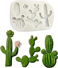 Stampo in silicone per piante di cactus per