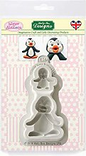 Stampo in silicone per pinguini per decorazione di