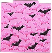 Stampo in silicone per pipistrello, per Halloween,