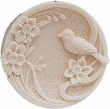 Stampo in silicone per sapone, per uccelli, per