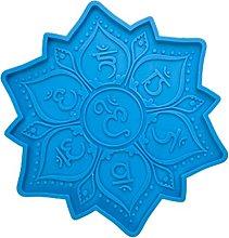 Stampo in silicone per sottobicchieri in resina