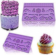 Stampo in silicone per torta in pasta di fondente