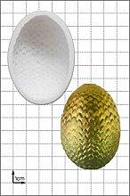 Stampo in silicone per uova di drago (grande).