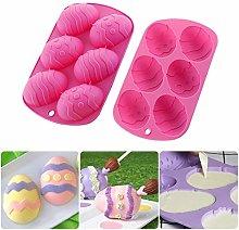 Stampo in silicone per uova di Pasqua in 3D, per