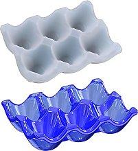 Stampo in silicone per uova, vassoio in silicone,