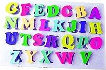 Stampo in silicone per uso alimentare - lettere