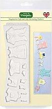 Stampo in silicone per vestiti per bambini, adatto