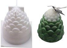 Stampo in Silicone per Zucca 3D per Candela del