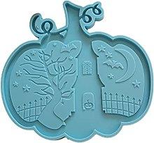 Stampo in silicone resina zucca di Halloween con