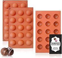 Stampo in silicone semi circolare a 15 cavità, 3