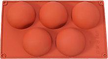 Stampo in silicone semicircolare per uso
