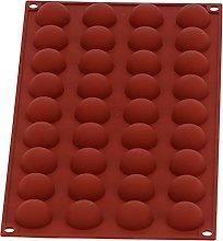 Stampo in silicone semisfera, stampi per