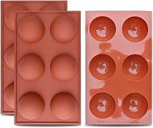 Stampo in silicone semisferico grande a 6 cavità