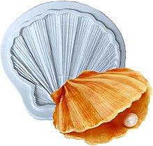 Stampo in silicone Shell per caramelle Sugarcraft