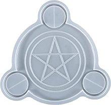 Stampo Pentagrammi Portacandele in resina colata