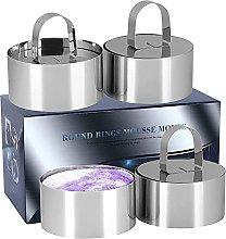 Stampo per anelli da forno, in acciaio inox, 4