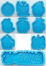 Stampo per biscotti 9 tipi tra noi Stampi in