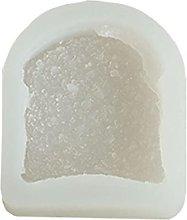 Stampo per biscotti a forma di pane tostato, in
