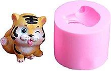 Stampo per biscotti a forma di tigre, a forma di