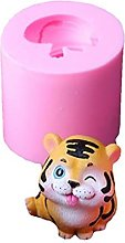 Stampo per biscotti a forma di tigre, in silicone