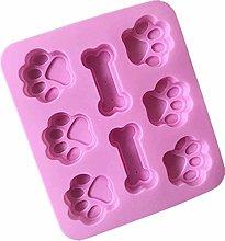 Stampo per biscotti a forma di zampa di cane,