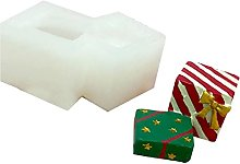 Stampo per biscotti a tema natalizio in silicone
