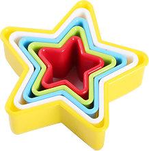 Stampo per biscotti con set di cinque/sei pezzi a