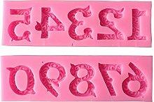 Stampo per biscotti da 0 a 9 numeri, stampo