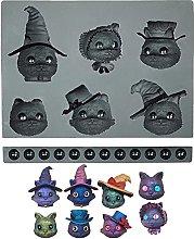 Stampo per biscotti di Halloween, in silicone,