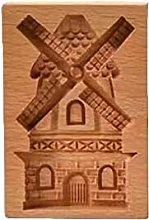Stampo per biscotti in legno portatile Stampo per