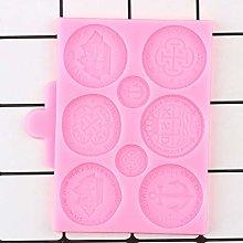 Stampo per biscotti, monete del tesoro, stampi in