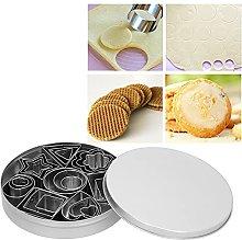 Stampo per biscotti, tagliabiscotti in acciaio