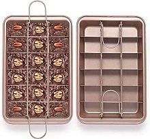 Stampo per brownie, 18 divisori per pane