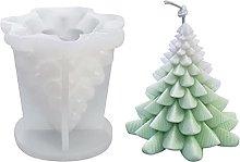 Stampo per candela di albero di Natale 3D, stampo