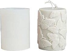 Stampo per candele a forma di candela, in silicone