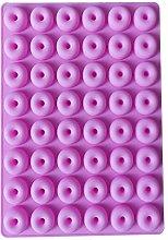 Stampo per caramelle a ciambella da 48 capacità,