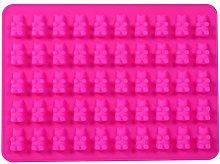 Stampo per caramelle, in silicone, con 1 x 50