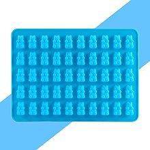 Stampo per cioccolatini in silicone, 50 stampi per