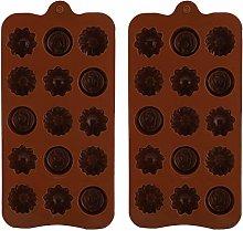 Stampo per cioccolato, facile da sformare Stampo
