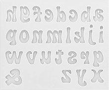 Stampo Per Colata in Resina Alfabeto, Stampi in