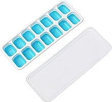 Stampo per cubetti di ghiaccio in silicone facile