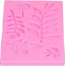 Stampo per foglie di rosa, stampo in silicone per