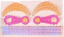 Stampo per fondente a forma di corona/perla 3D per