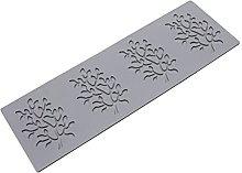 Stampo per fondente in silicone, stampo per