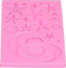 Stampo per fondente, stampo a stella, forma di