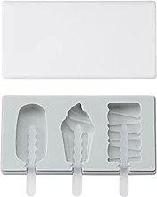 Stampo per gelato in silicone con coperchio Forma