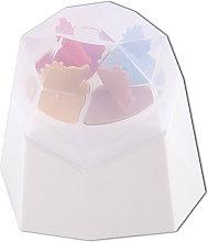 Stampo per ghiaccioli con coperchio, 3 stampi per