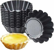 Stampo per mini crostate in acciaio al carbonio da